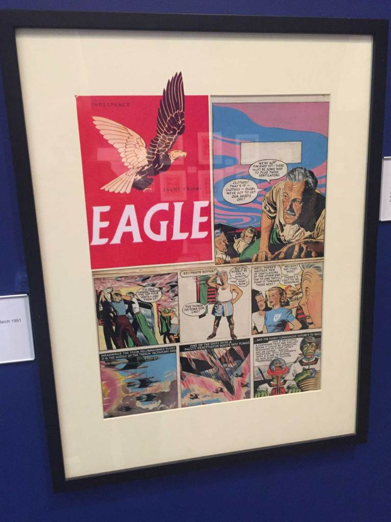 Frank Hampson Exhibition - The Atkinson 2018 - Eagle Art