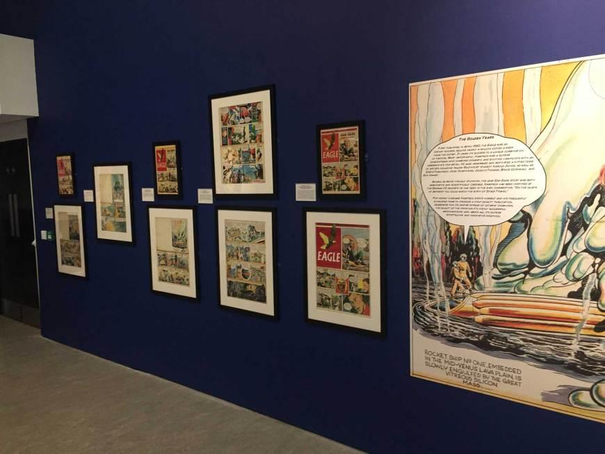 Frank Hampson Exhibition - The Atkinson 2018 - Eagle art
