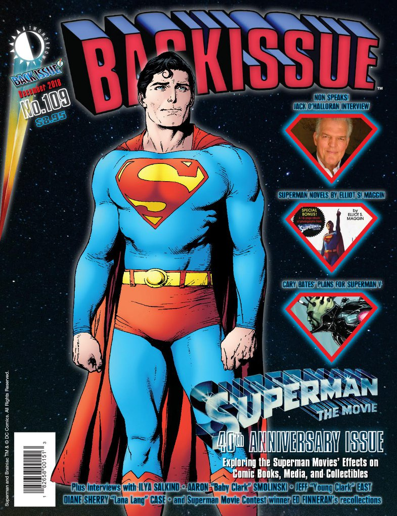 Back Issue #109 Cover