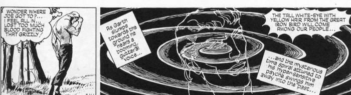 "John Allard's final Garth strip, part of the ""Sundance"" story. © 2018 MGN Limited"