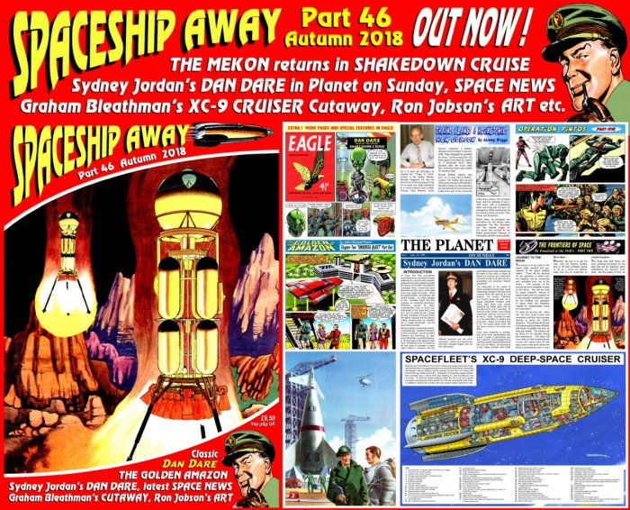 Spaceship Away (Issue 46) - Promotional Image