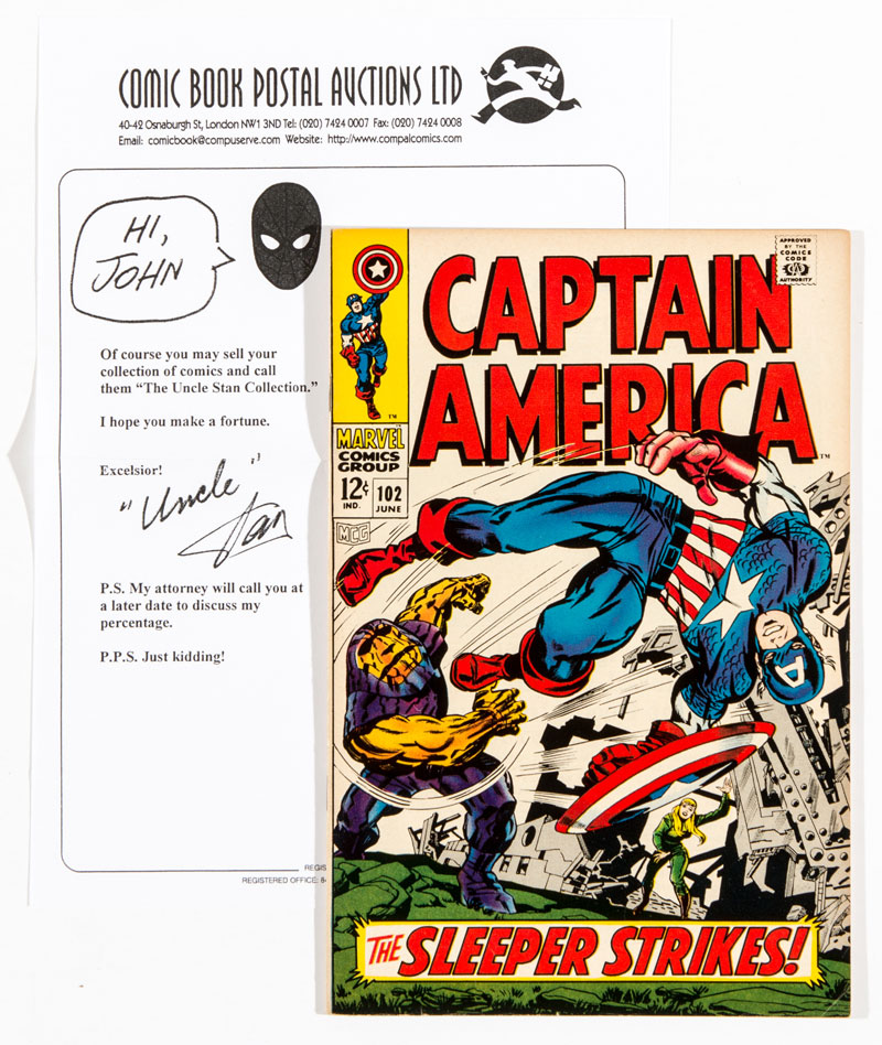 Stan Lee Collection - Captain America