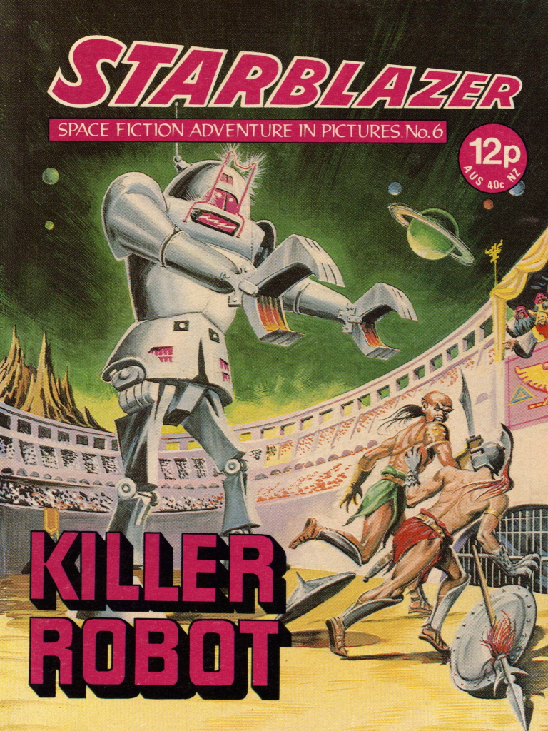 Starblazer No. 6: Killer Robot