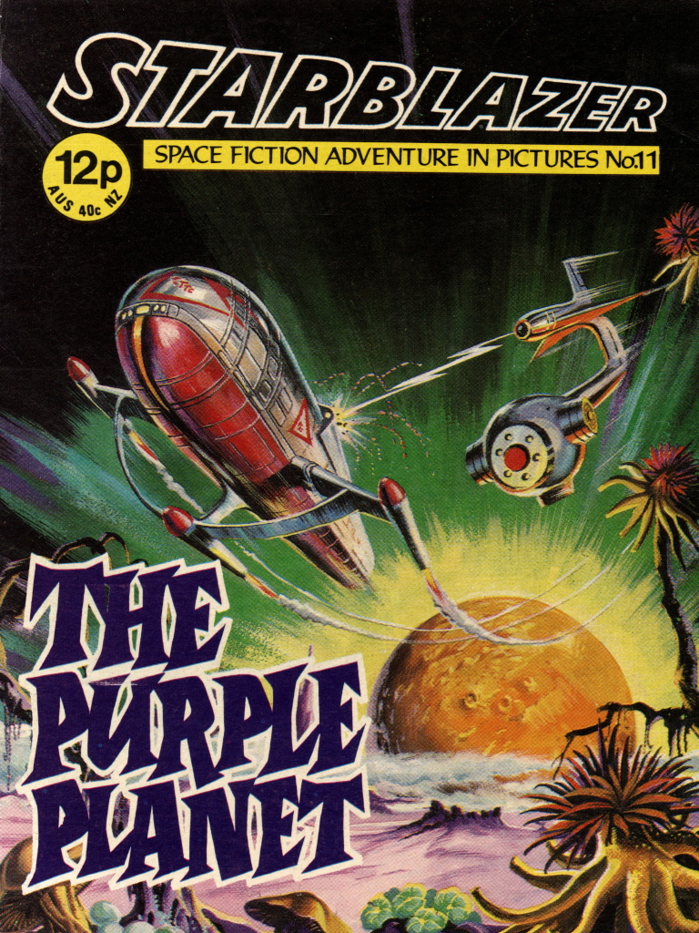 Starblazer No. 11: Purple Planet