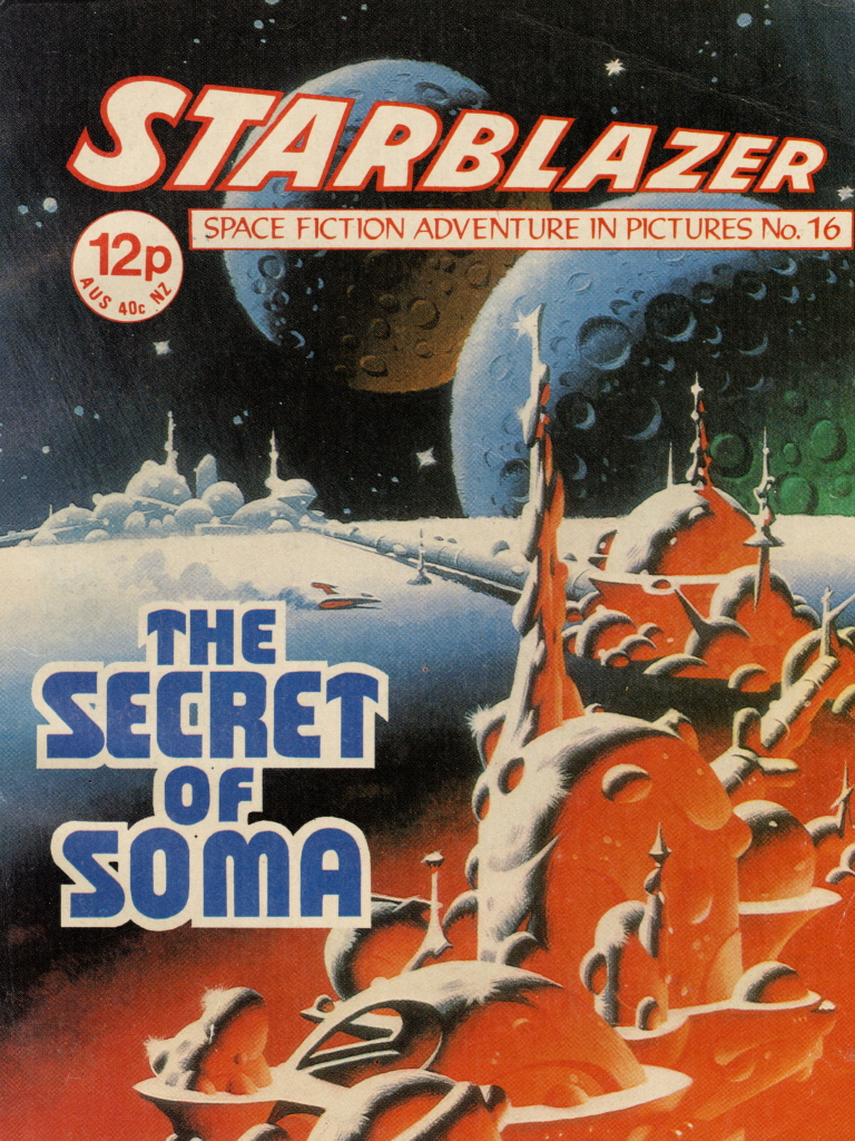 Starblazer No. 16: The Secret of Soma