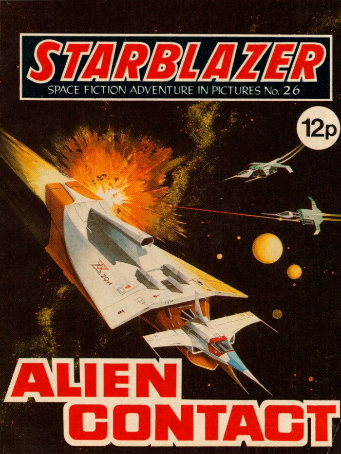 Starblazer No. 26: Alien Contact