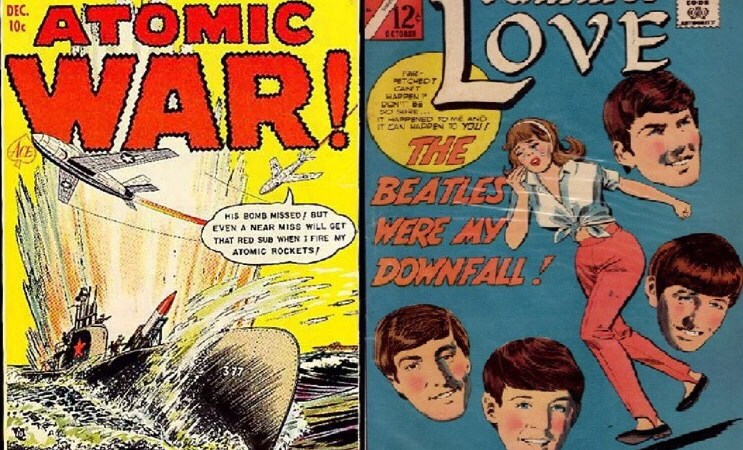 Comics is All You Need: Oxford Comics Network spotlights The Beatles, Cold War!