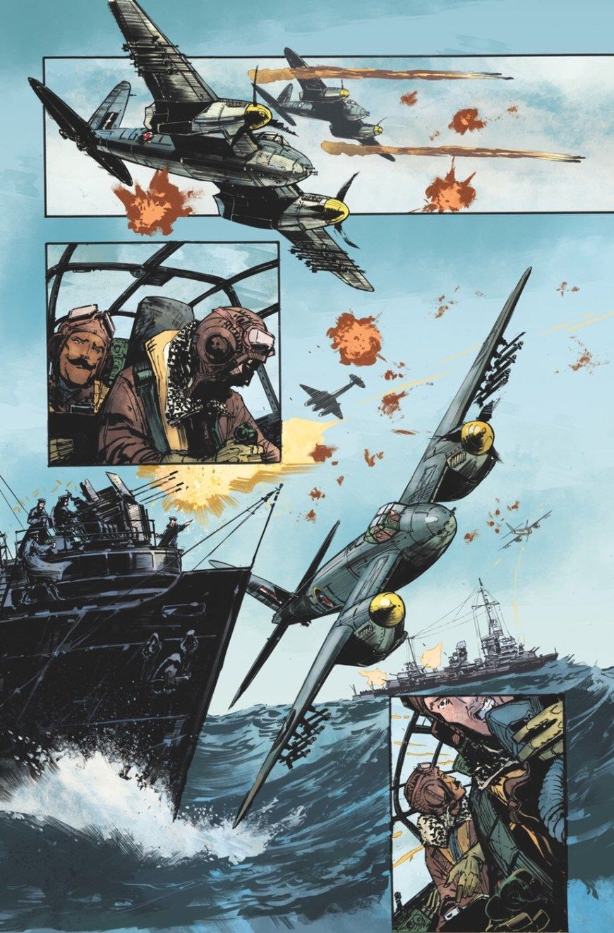 Out of the Blue by Garth Ennis and Keith Burns