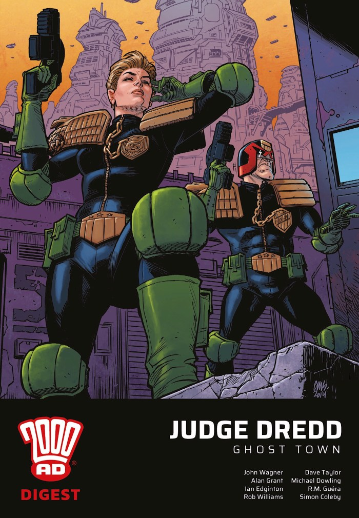 Judge Dredd: Ghost Town - 2000AD Digest