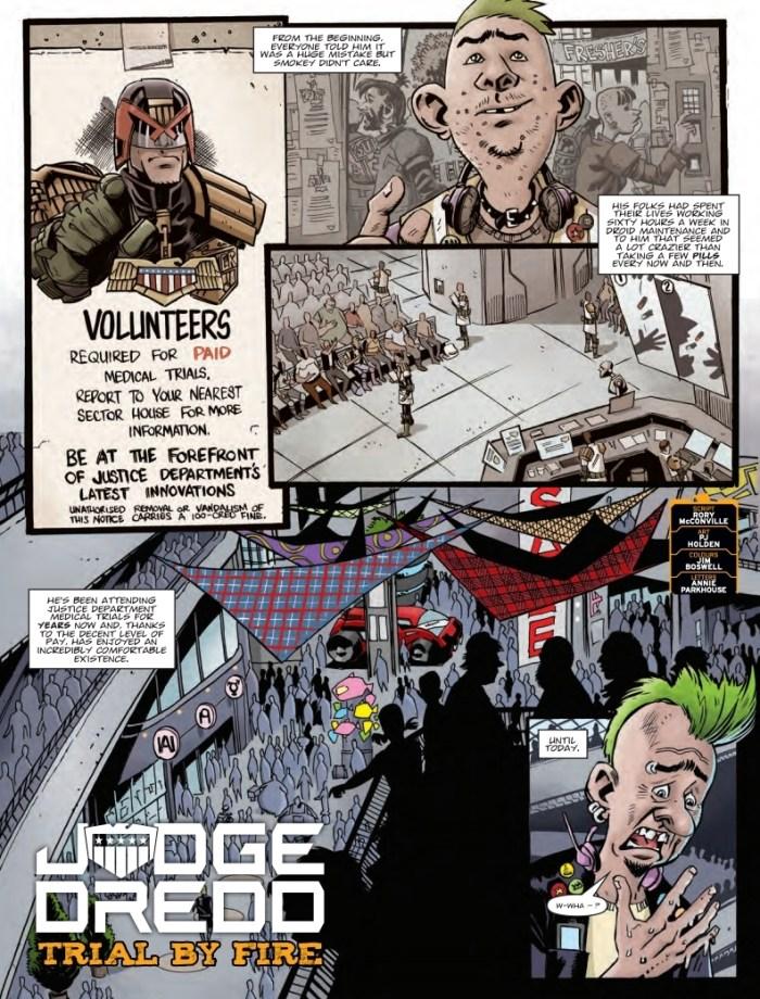 2000AD 2110 - Judge Dredd - Trial By Fire