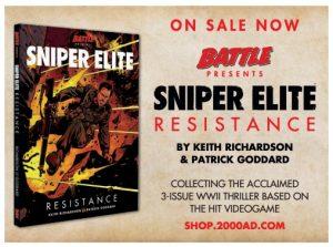 2000AD 2110 - Sniper Elite Resistance Promo