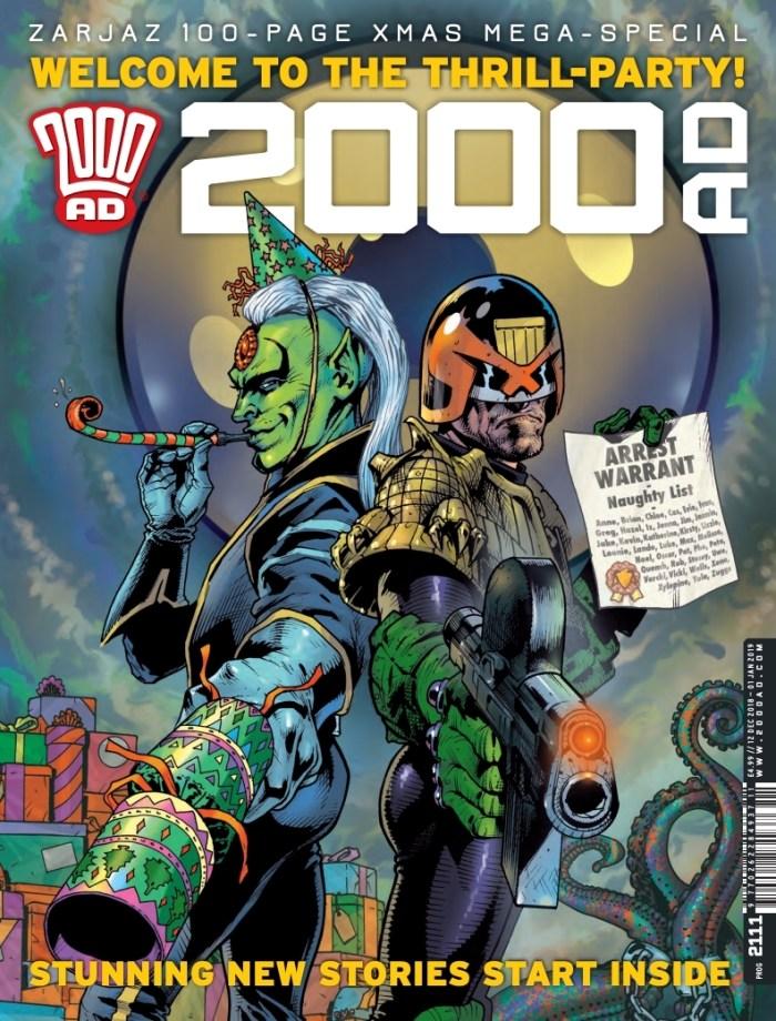 2000AD Prog 2111 Cover