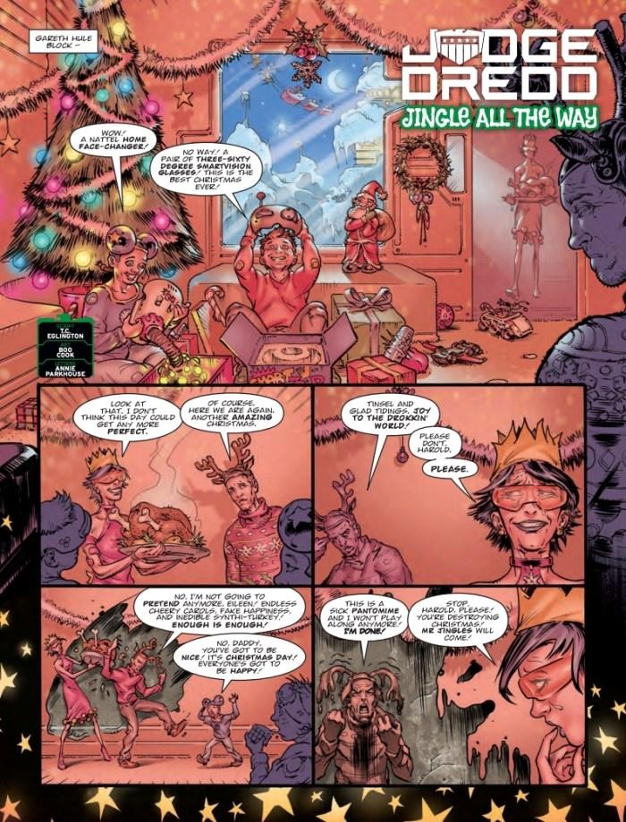 2000AD 211 - Judge Dredd - Jingle All The Way