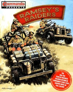 Commando Presents Ramseys Raiders 1 Cover