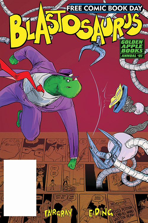 BLASTOSAURUS ANNUAL #1 — FREE COMIC BOOK DAY 2019