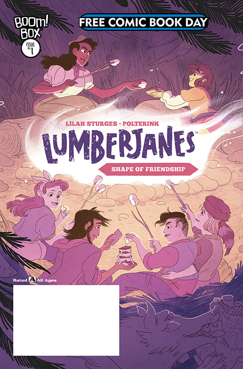 LUMBERJANES: THE SHAPE OF FRIENDSHIP — FREE COMIC BOOK DAY 2019