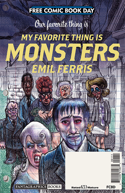 OUR FAVOURITE THING IS MY FAVOURITE THING IS MONSTERS — FREE COMIC BOOK DAY 2019