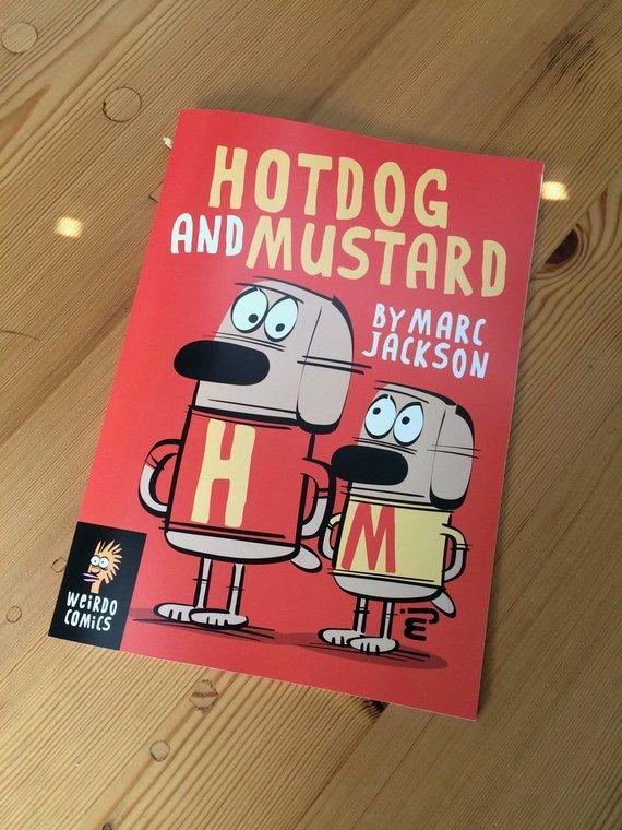 Hotdog and Mustard - Cover