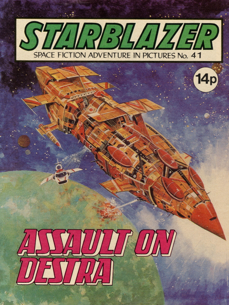 Starblazer No. 41: Assault on Planet Destra
