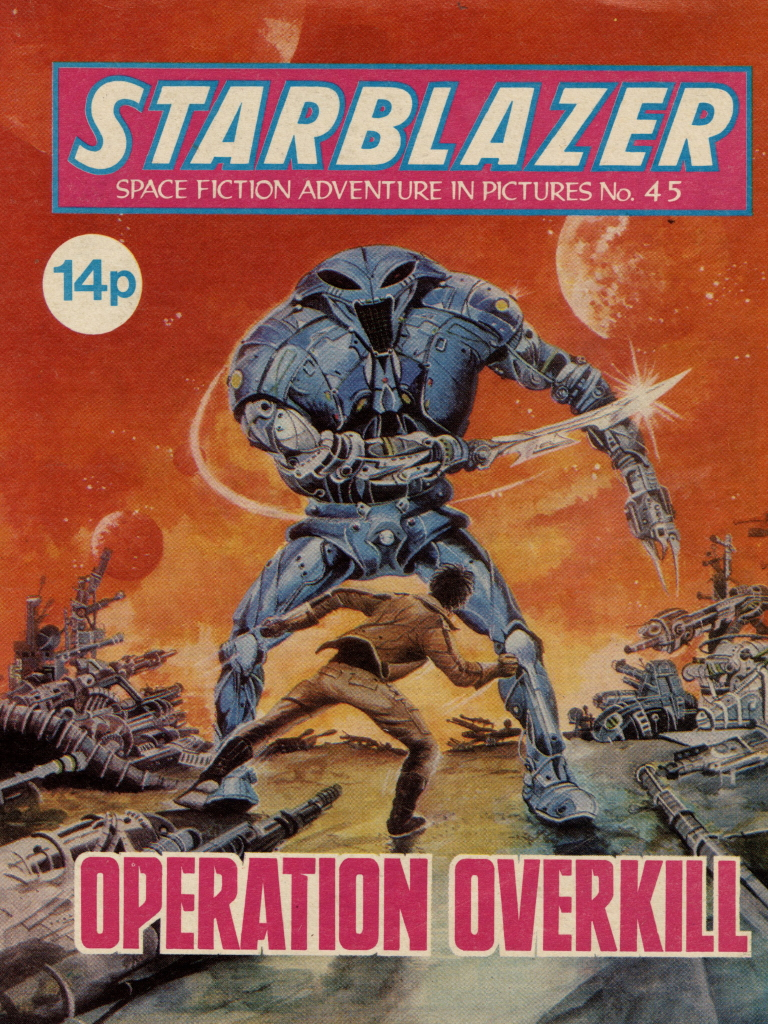 Starblazer 45 - Operation Overkill