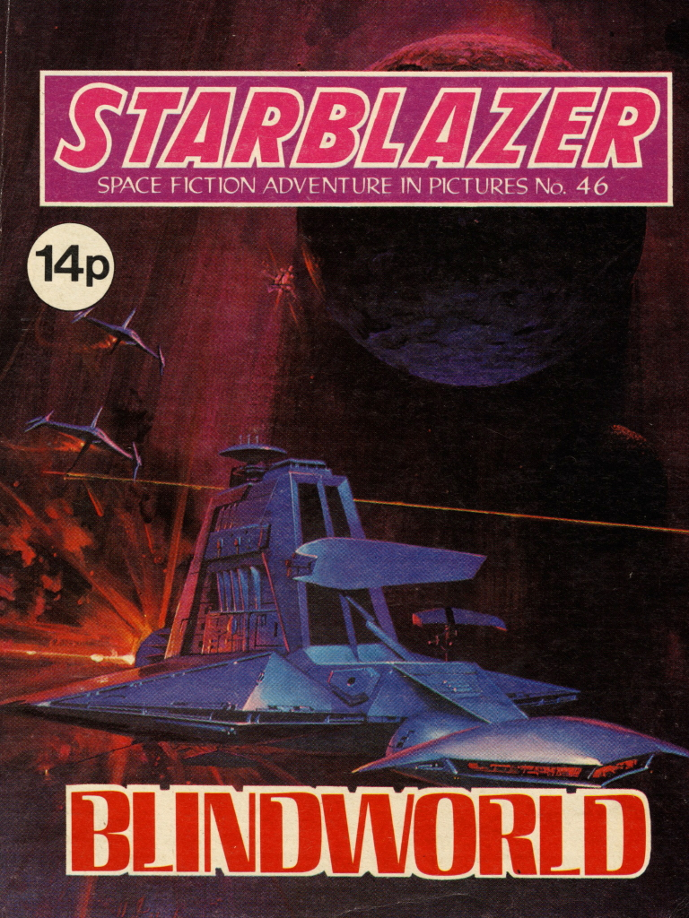 Starblazer 46 - Blindworld
