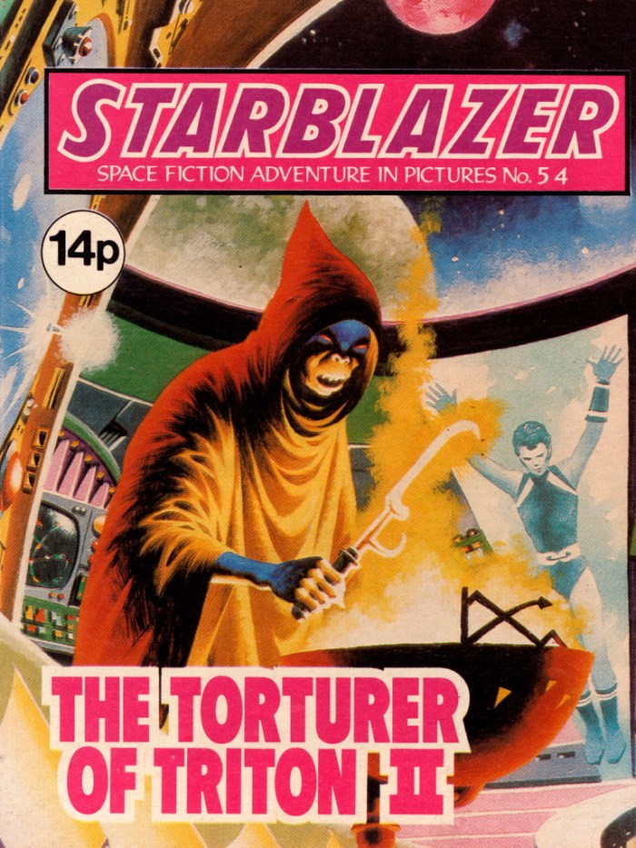 Starblazer 54: The Torturer of Triton II