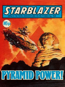 Starblazer 58: Pyramid Power!