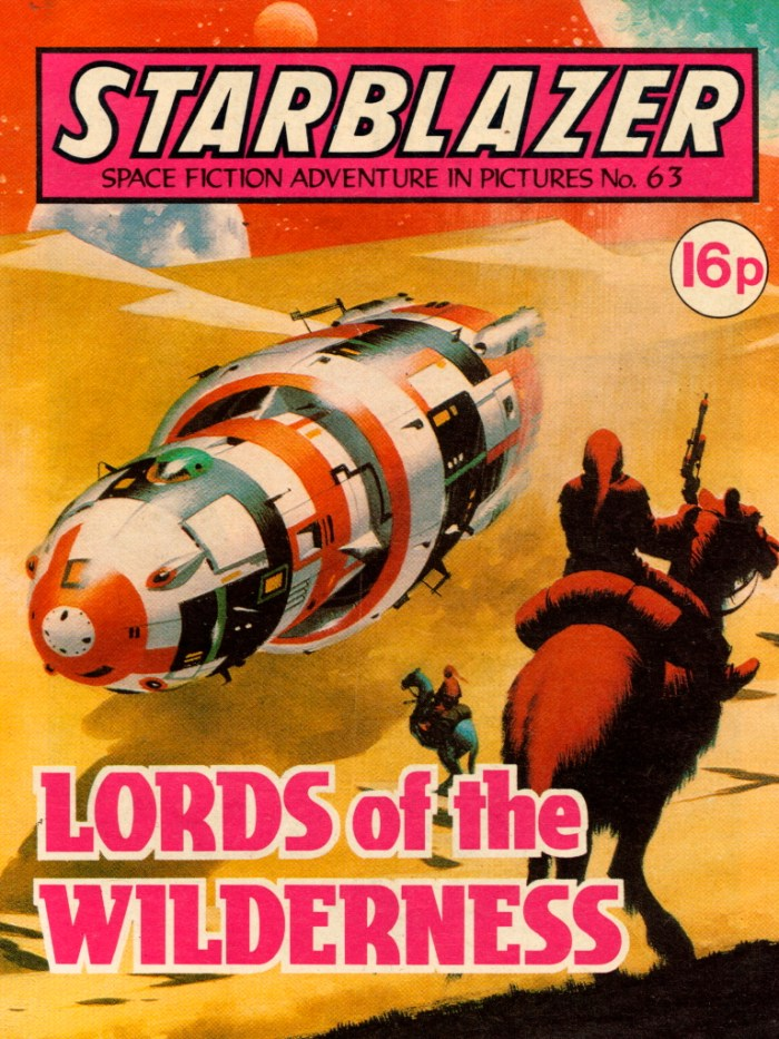 Starblazer 63: Lords of the Wilderness