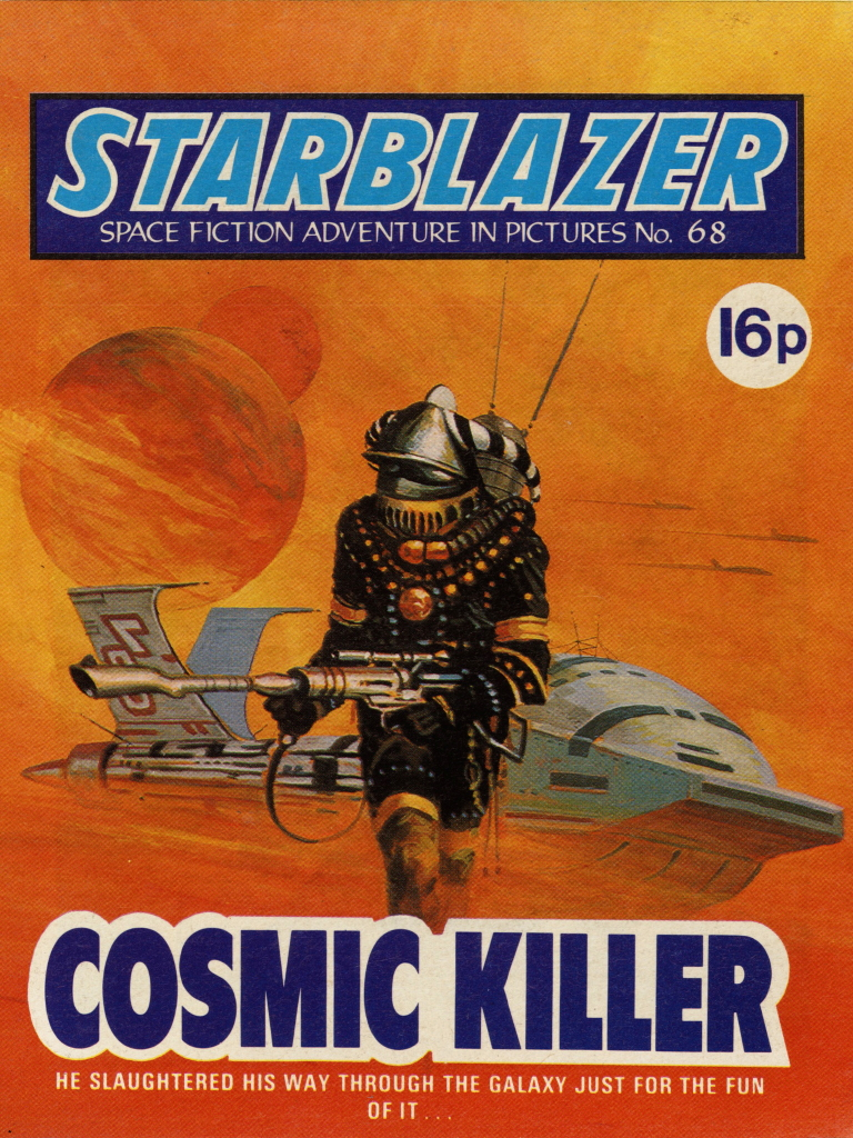 Starblazer 68: Cosmic Killer