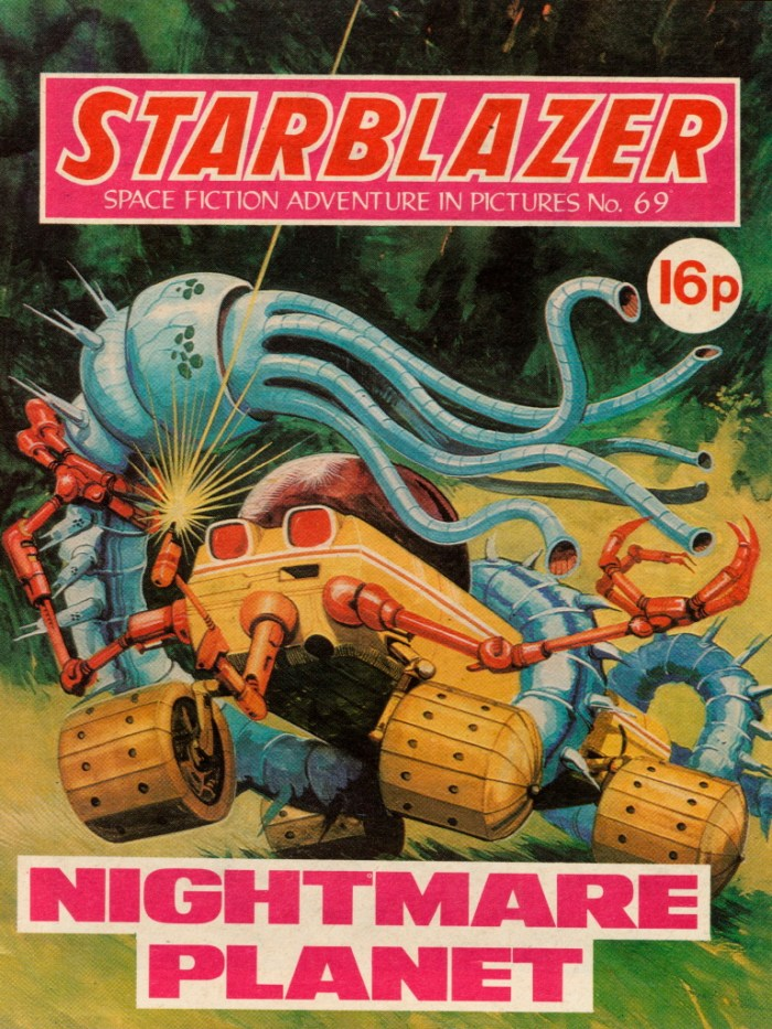 Starblazer 69: Nightmare Planet