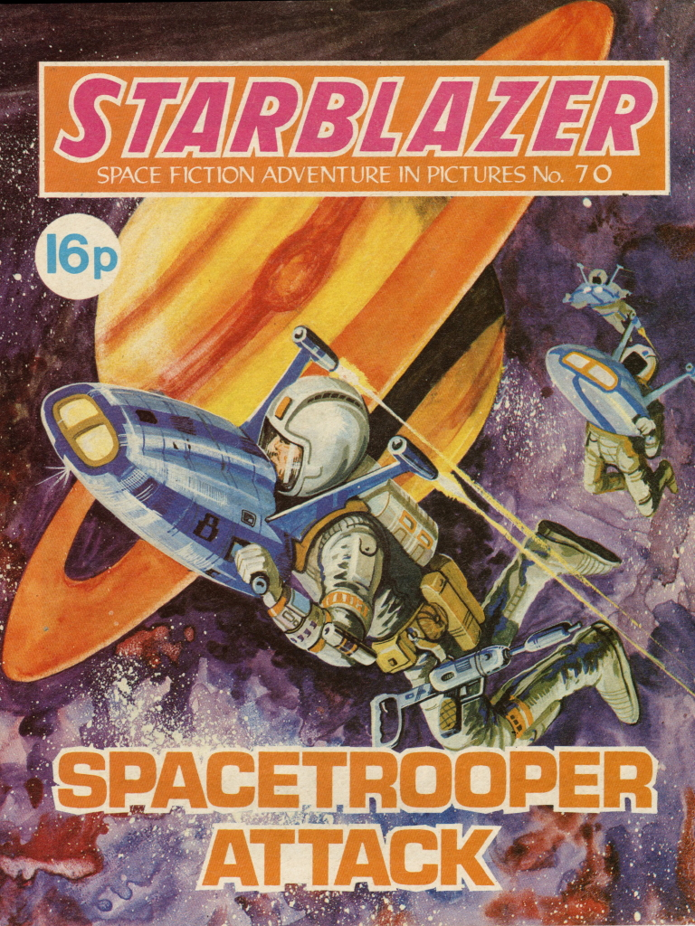 Starblazer No. 70: Spacetrooper Attack