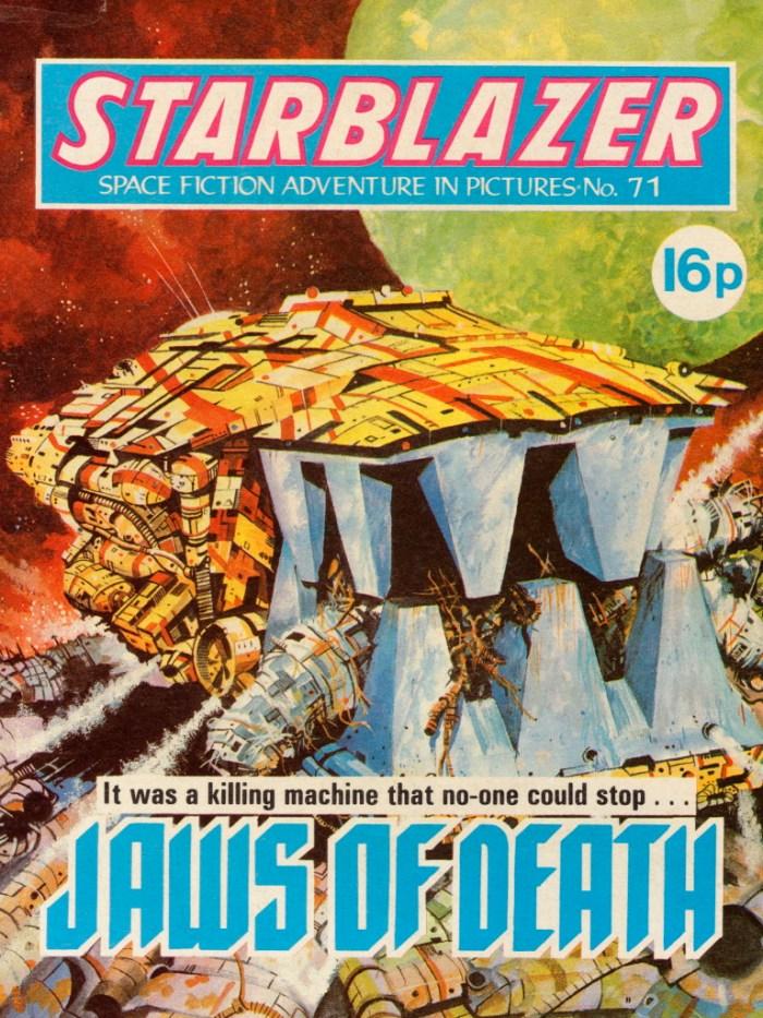 Starblazer 71: Jaws of Death