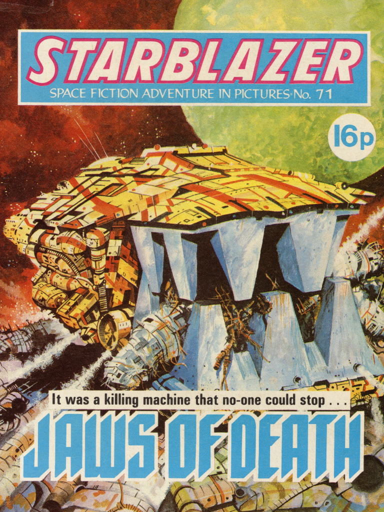 Starblazer 71: Jaws of Death