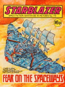 Starblazer 73 - Fear on the Spaceways