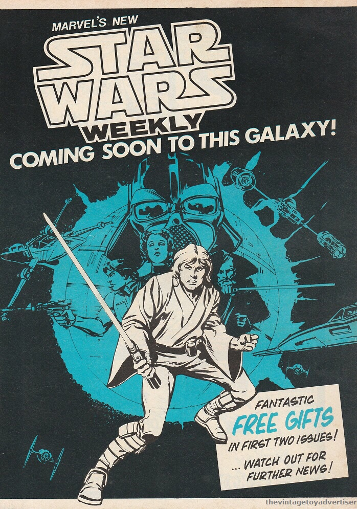 Star Wars Weekly House Ad