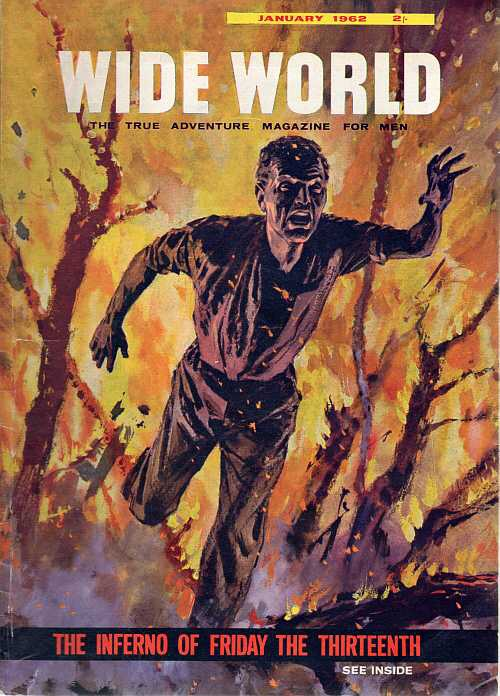 The cover of Wide World, January 1962 (art by Langhammer)
