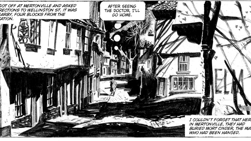 """A Comics Mystery: How did a street in Norwich become a location for Alberto Breccia's """"Mort Cinder""""?"""