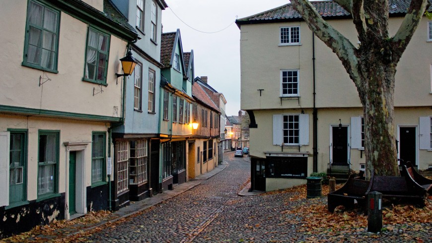 Elm Hill, Norwich. Photo: Michael Crouch