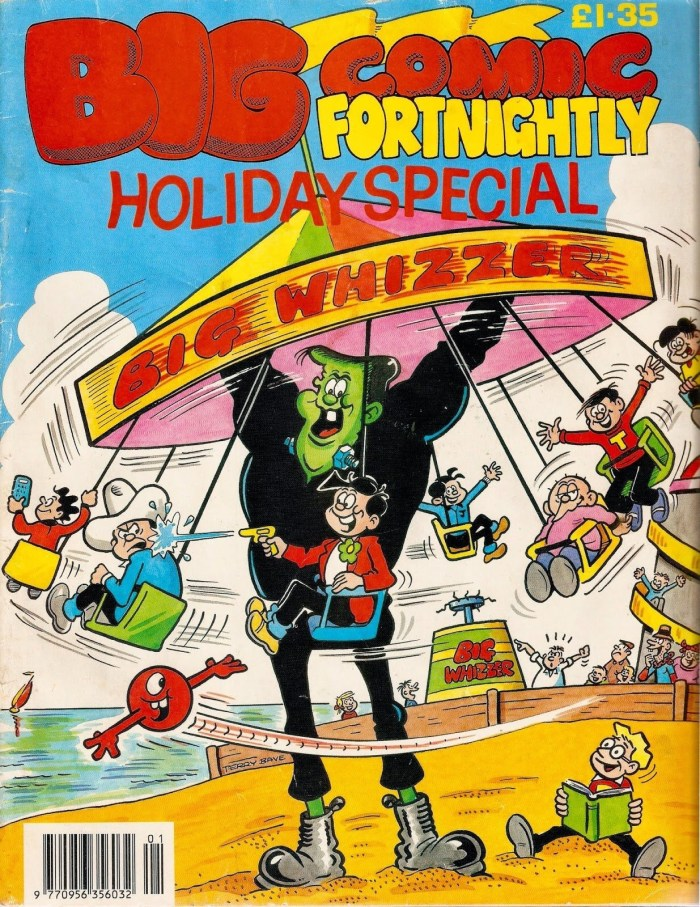 Terry Bave's cover for the 1994 Big Comic Fortnightly Holiday Special