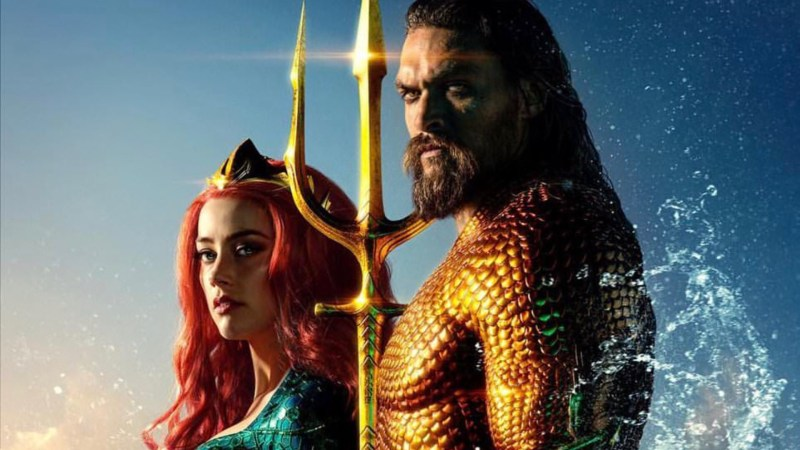Official Film Chart: Aquaman makes a splash as the week's biggest superhero film on UK home release
