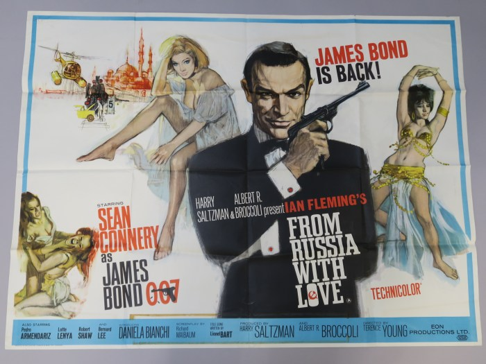 James Bond - From Russia with Love Quad Poster