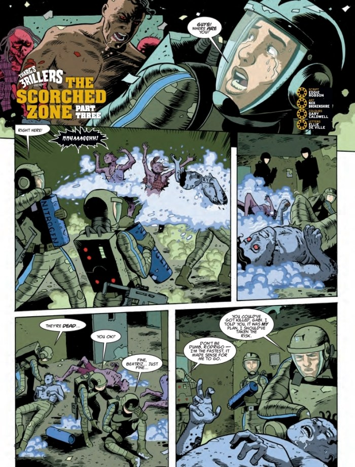 2000AD 2114 - Tharg's 3rillers Present - The Scorched Zone