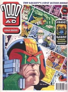 2000AD Prog 874 - Cover