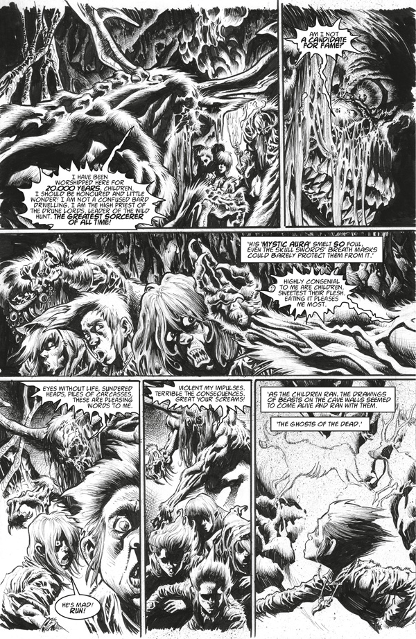 "2000AD Villains Take Over 2019 - ""Lord Weird Slough Feg: Lord of the Hunt"""
