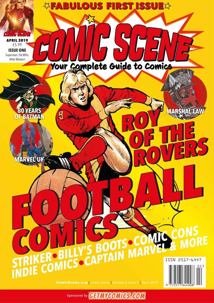 ComicScene Magazine Issue One 2019
