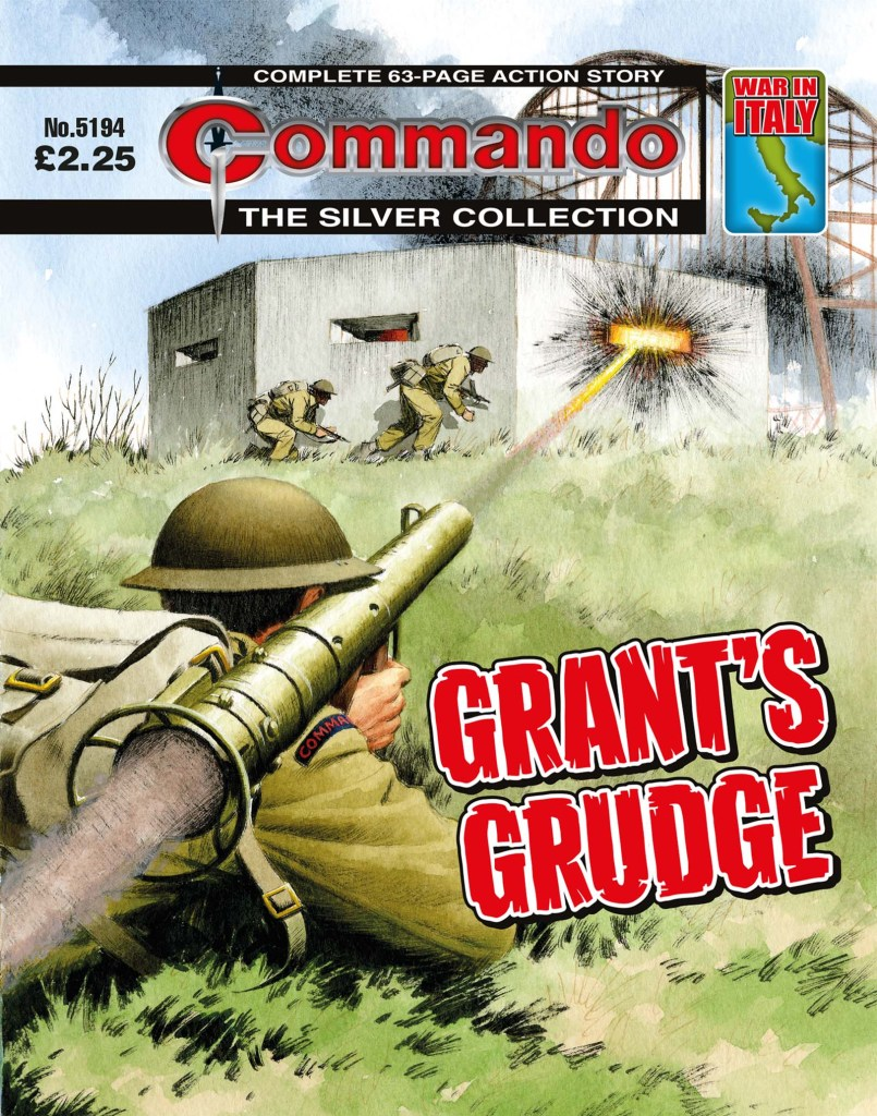 Commando 5194: Silver Collection: Grant's Grudge