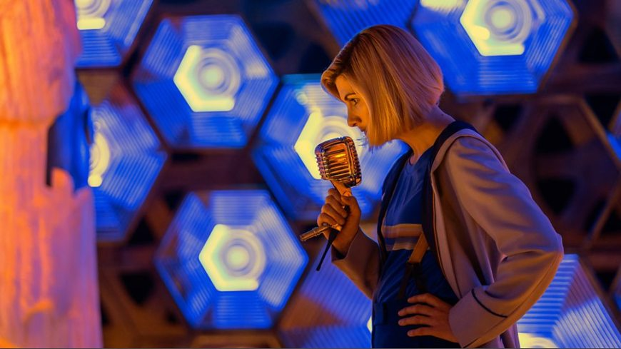 Jodie Whittaker as the Doctor. Image © BBC