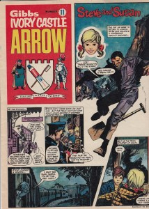 Gibbs Ivory Castle Arrow Issue 11