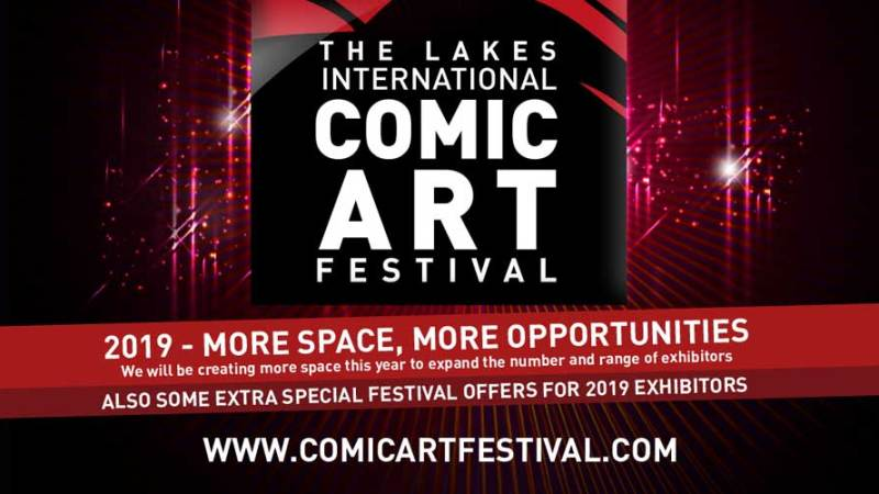 Lakes Festival Comics Clock Tower – Exhibitors Welcome!