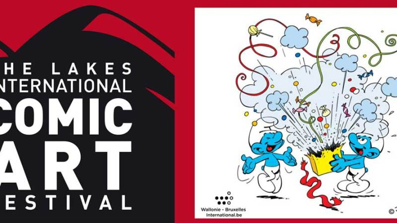 The Smurfs head to the Lakes International Comic Art Festival this October